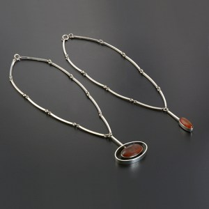 From necklaces with pendant