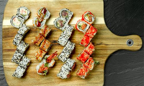Maki love menu