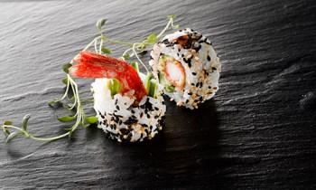 Ebi tempura uramaki