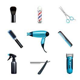 ilustracao-de-utensilios-de-saloes-de-beleza-para-representar-o-mercado-de-saloes-de-beleza