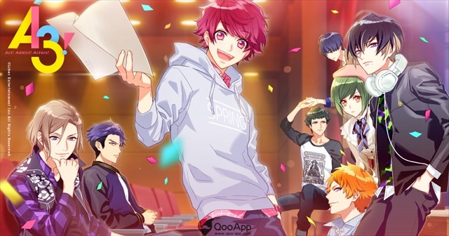 Mobile idol game A3! is now available for download
