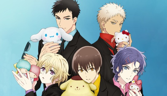 Sanrio Boys will be getting an anime in winter 2018