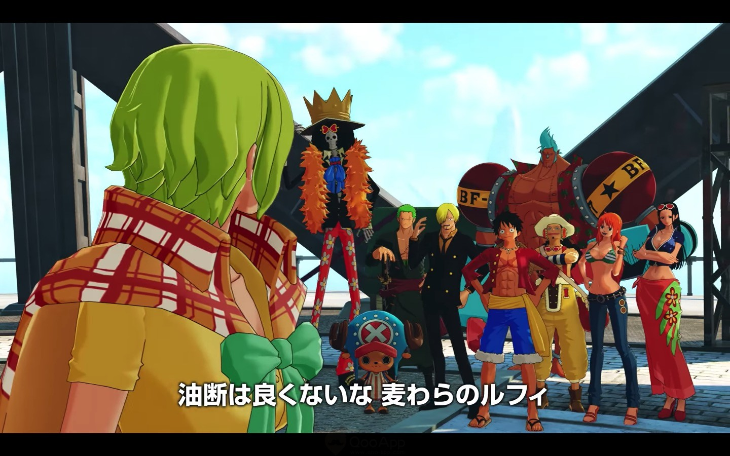 Fourth PV for One Piece World Seeker Released