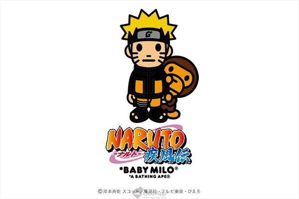 A Bathing Ape x Naruto Shippuden Collaboration Arrives in US tomorrow!