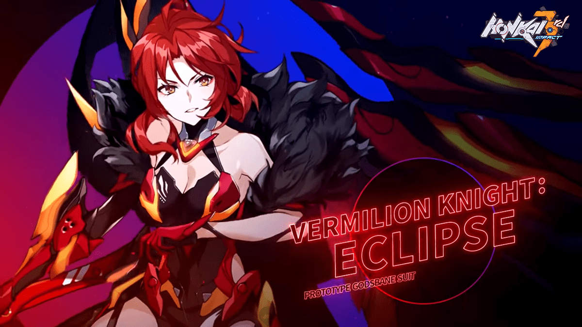 Honkai Impact3 - Vermillion Sword: A new S-rank Himeko battlesuit joins the fray!