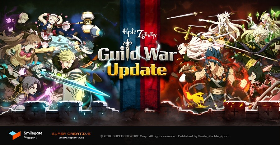 Guild Wars Officially Launched in Epic Seven and 2 New ML Heroes!