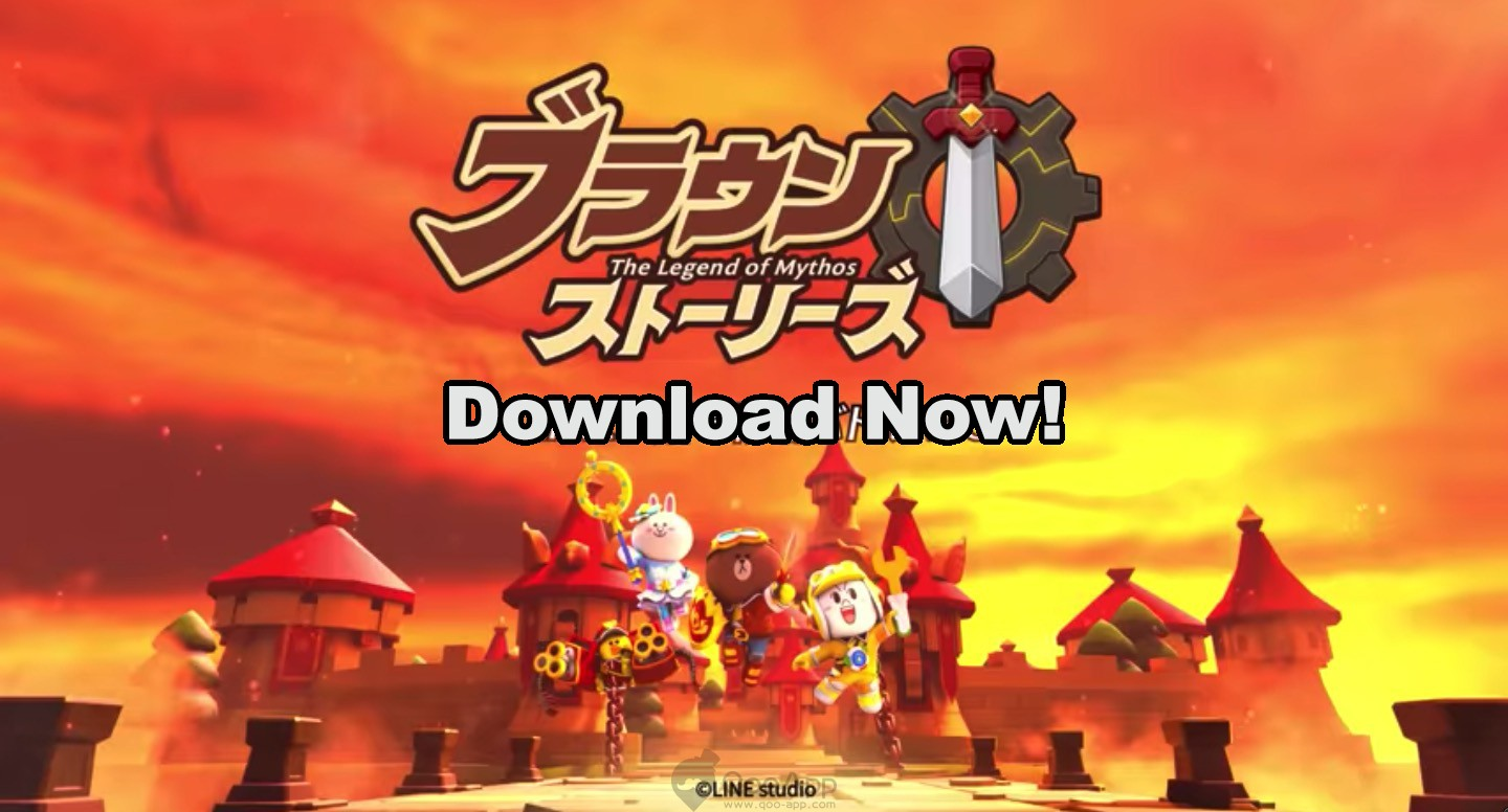 LINE's Brown Stories: The Legend of Mythos is Available for Download