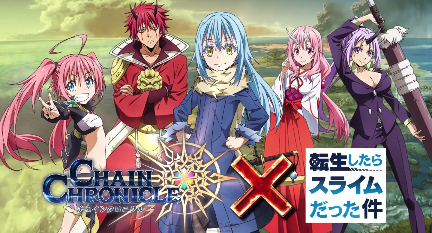 Chain Chronicle x That Time I Got Reincarnated as a Slime Collaboration Characters Revealed