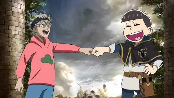 Osomatsu-san x Black Clover Collaboration Announced