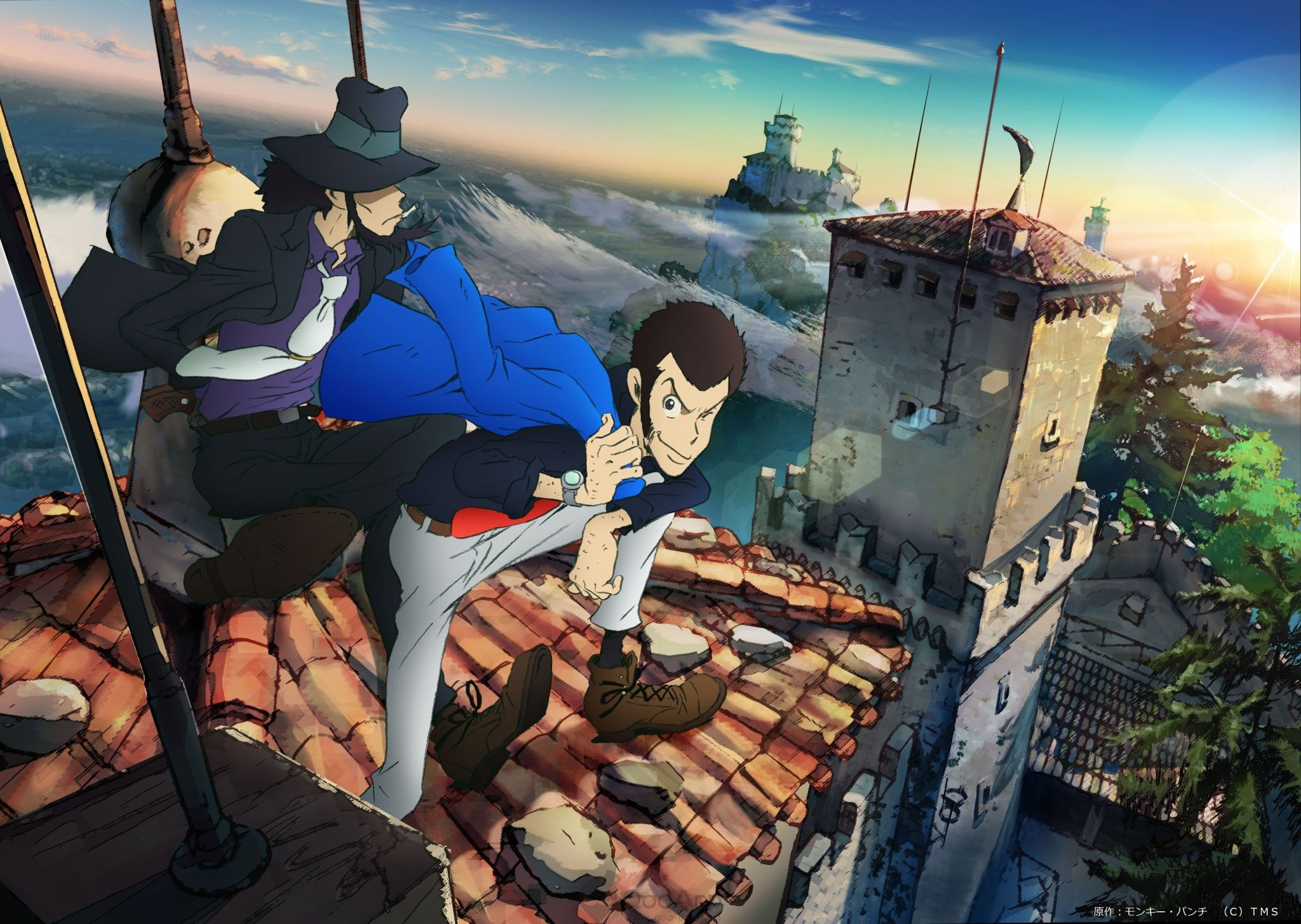 Tribute Paid to Lupin III Manga Author Monkey Punch