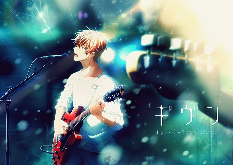 (Updated) Upcoming BL Anime Given Streams Character PV for Four Consecutive Weeks