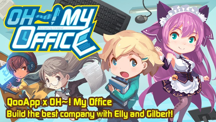 QooApp x Oh~! My Office Crossover! Hire Elly & Gilbert to Work in Your Office!