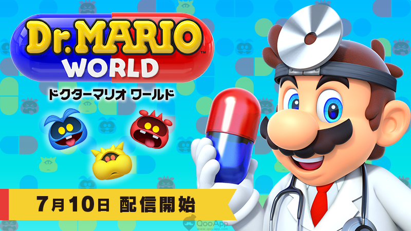 Nintendo's Mobile Game Dr. Mario World Set to Release on 10th July