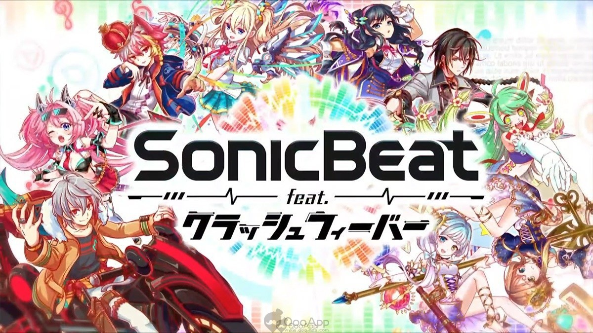 Crush Fever Celebrates 4th Anniversary with New Rhythm Game SonicBeat feat. Crash Fever and Collaboration with A Certain Magical Index Season 3 & A Certain Scientific Accelerator