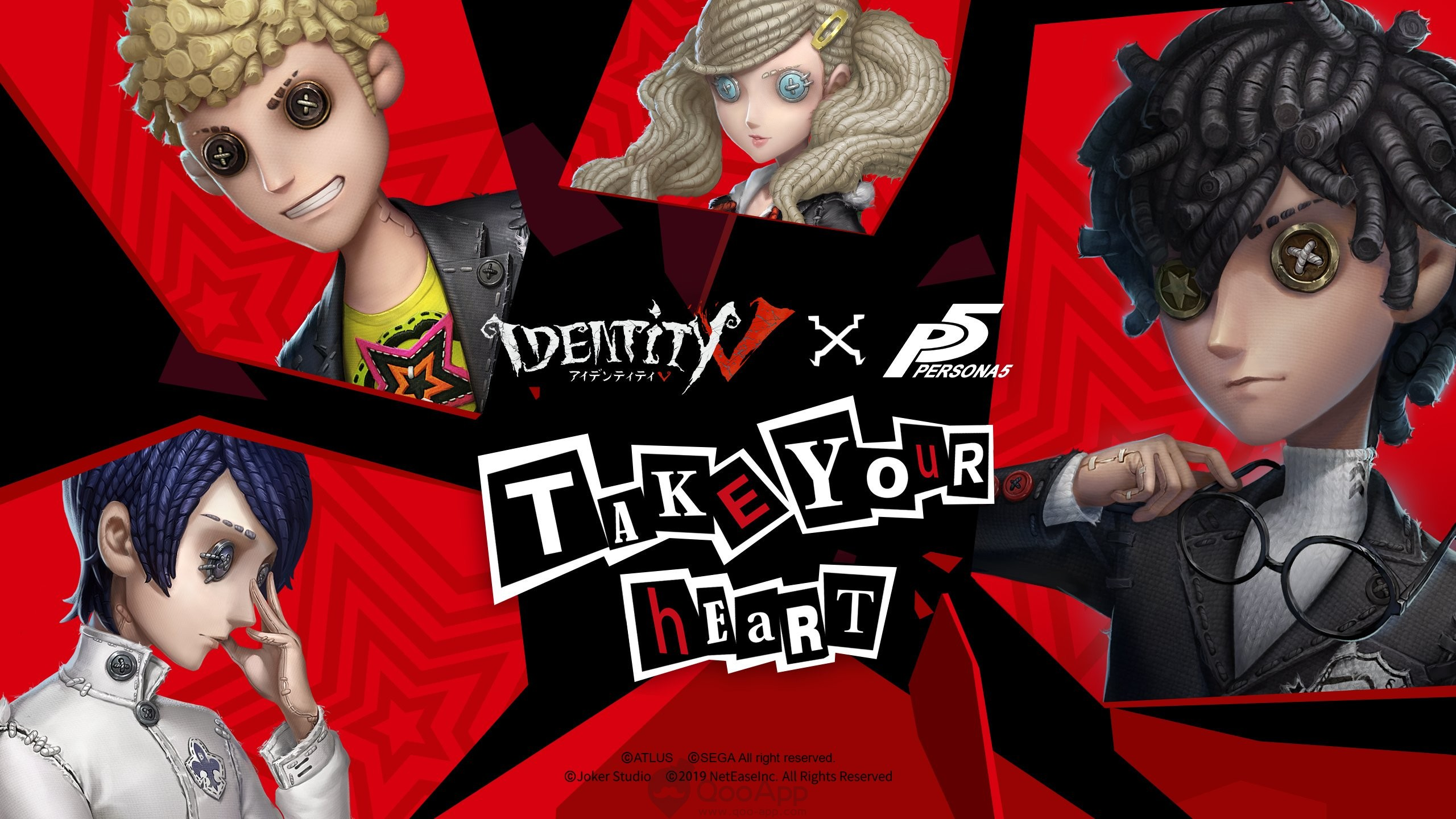 IdentityⅤ X Persona 5 Collaboration Officially Starts!