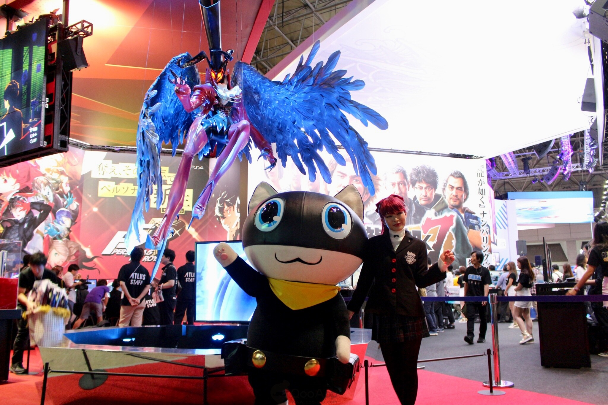 Sneak Peak at Persona 5 The Royal Playable Demo at TGS2019