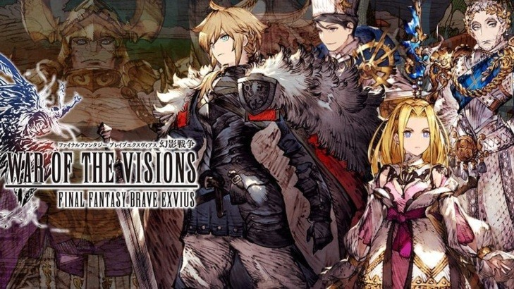 War of the Visions: FFBE hits 5 Million downloads in Less Than One Month, Expected to Go Global in 2020