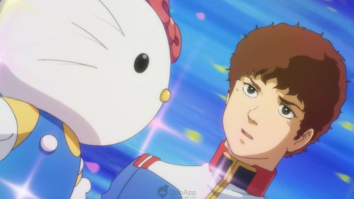 "Cuteness Saves the World! ""Gundam"" X ""Hello Kitty""Full Collaboration Anime Revealed!"
