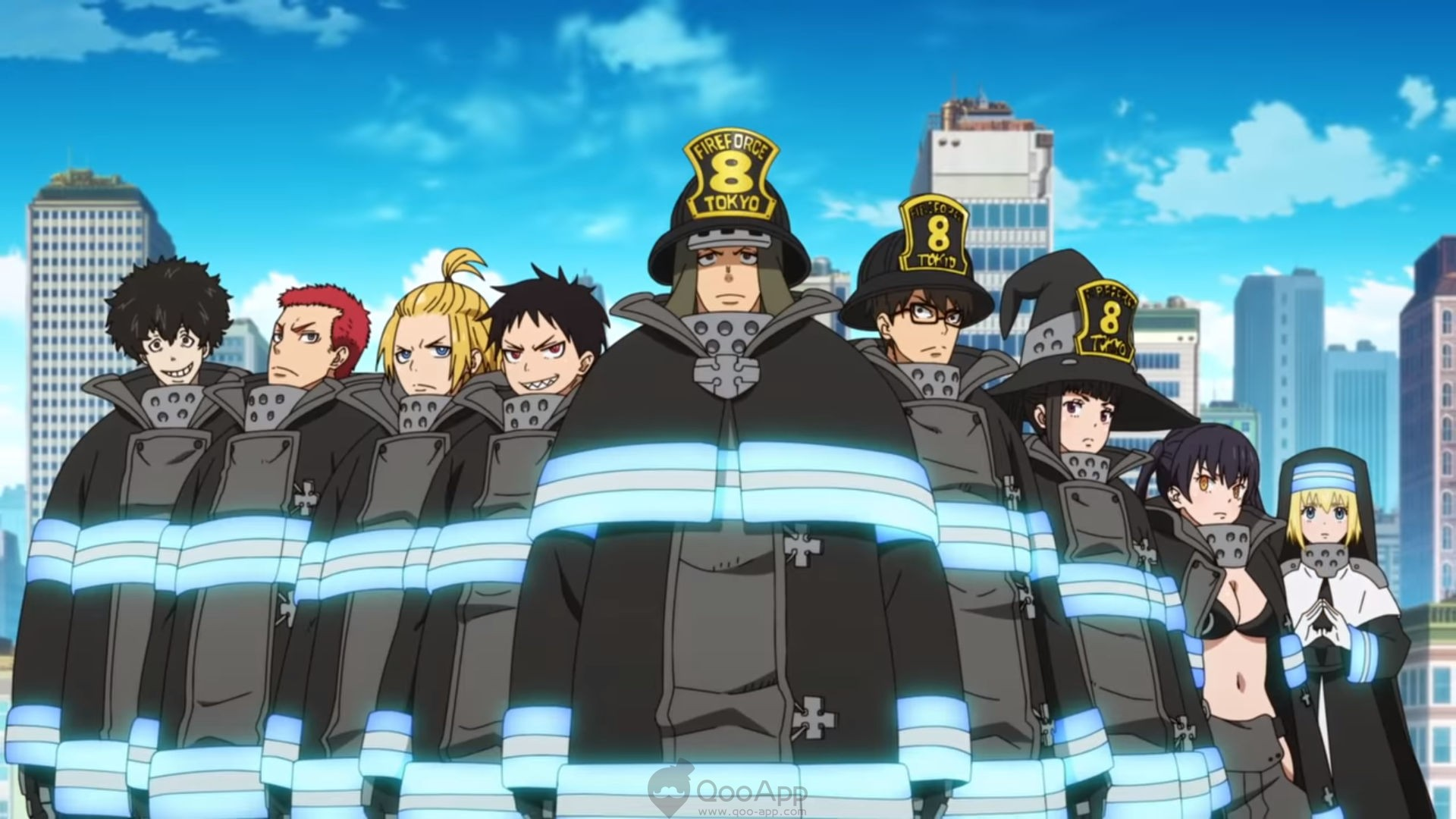 Fire Force Qooapp Hd wallpapers for pc (49 wallpapers). fire force qooapp