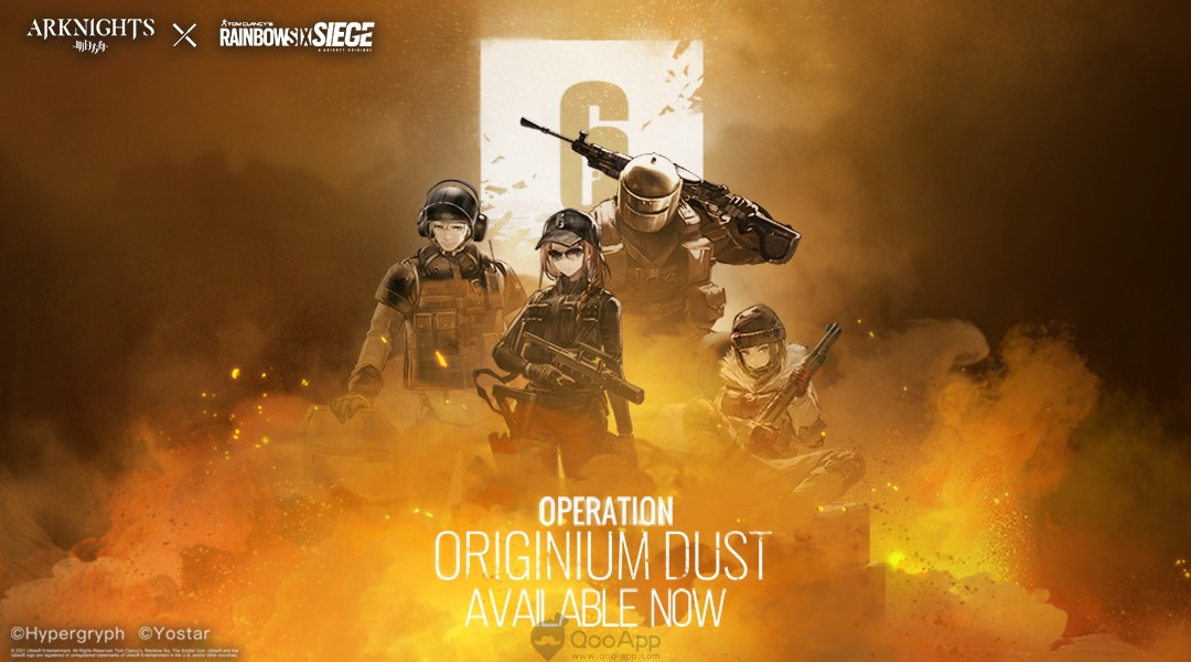 Arknights x Tom Clancy's Rainbow Six Siege Crossover Begins on August 18
