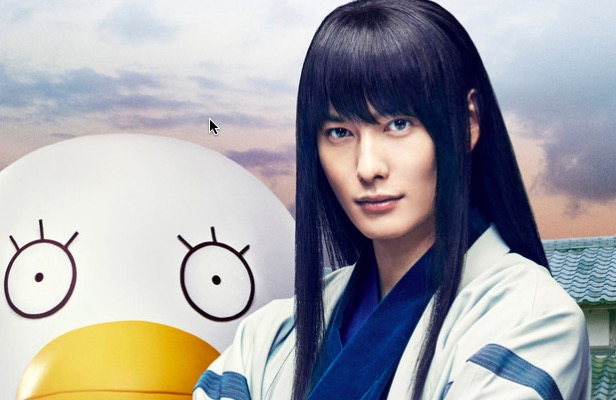 Live-action Gintama releases more characters' headshots