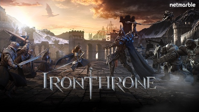 Netmarble 旗下全新策略遊戲 《鐵之王座:Iron Throne》本日全世界同步正式配信!
