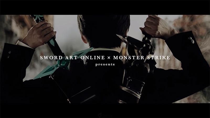 《怪物彈珠》✕《刀劍神域》
