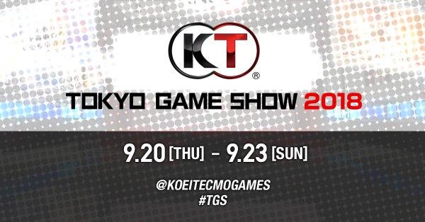 TGS2018:KOEI TECMO 公開TGS參展作品列表 《生死格鬥6》將開放最新體驗版試玩