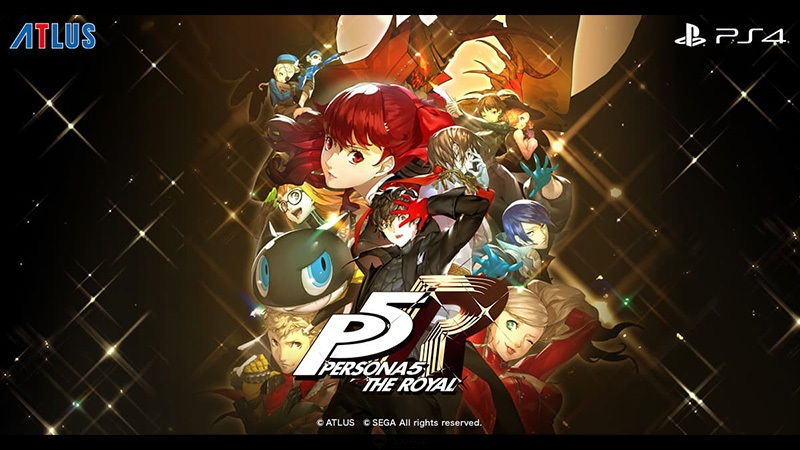 終於來了!!!《PERSONA5 THE ROYAL》新角色、新地圖登場,10月31日正式推出!