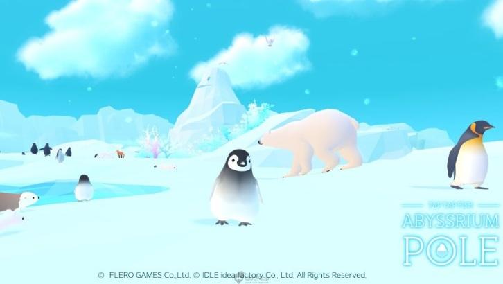 可愛極地動物進駐手機!療癒系手遊《深海水族館極地》正式推出
