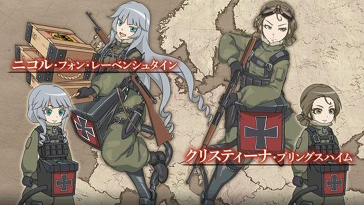 女兵參戰!《幼女戰記》首款衍生手遊新作《幼女戰記 魔導師之戰》公開原創角色