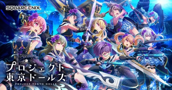 Square Enix's mobile RPG Project Tokyo Dolls is coming on 22/6