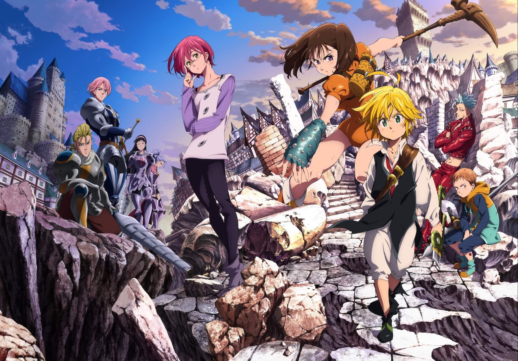 The Seven Deadly Sins are here to save Midgard with Crystal of Re:union x The Seven Deadly Sins Collaboration