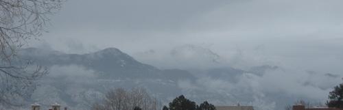 Pikes Peak, 01/29/13 around 9:15am