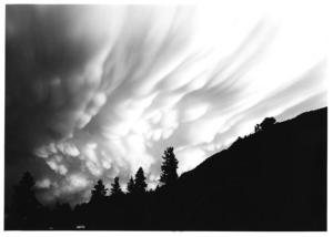[Clouds] by Myron Wood,  June 1976. Copyright PPLD. Image Number: 002-1619.