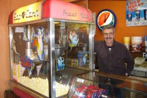 Joe Machetta has owned the Sands Theater in Brush for 56 years. He began his career working at a theater his grandparents owned, working as a teenager in the concession stand.