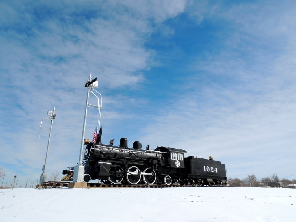 Replicas and remnants of La Junta's railroad past are scattered all over town.
