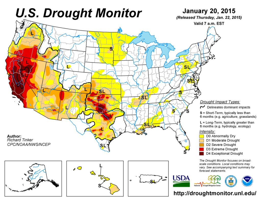 U. S. Drought Monitor