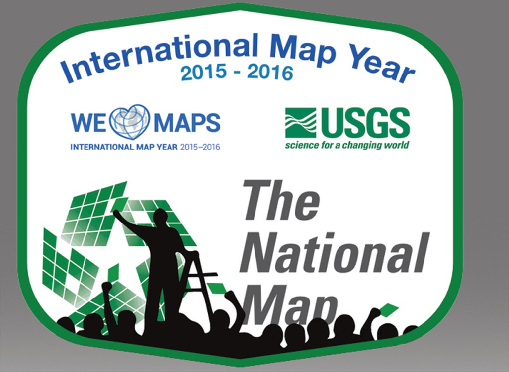 One of many submitted designs for the official National Map Corps mapping project during the International Map year. The final design is yet to be decided.