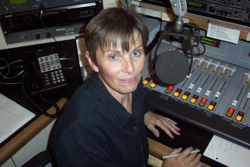 Vicky Gregor, Music Director and Host of the Morning Music Mix