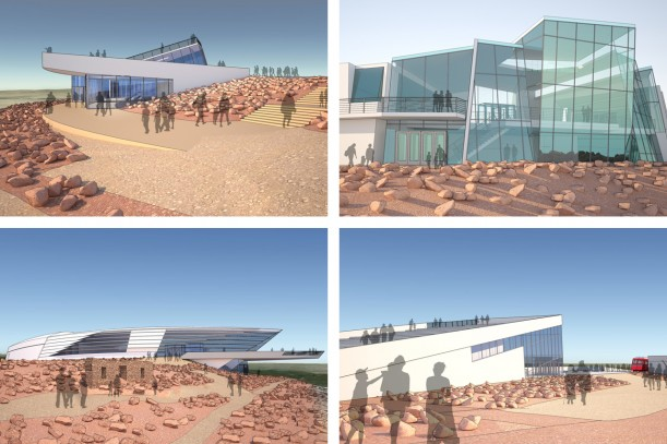 Illustrations of considered design concepts for the new Pikes Peak Summit Complex