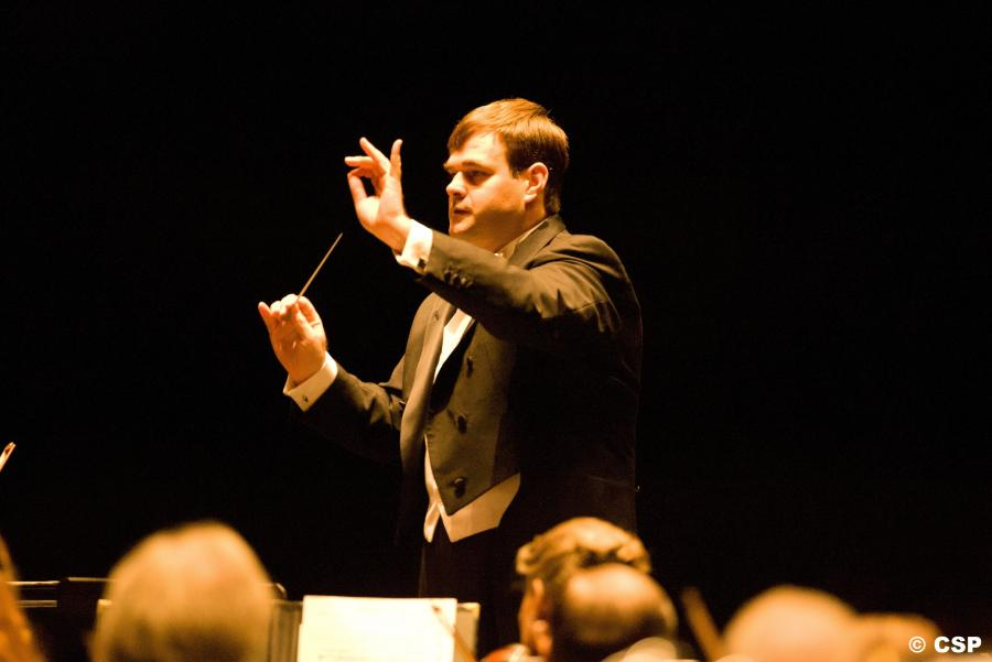 Josep Caballe-Domenech, music director of the Colorado Springs Philharmonic