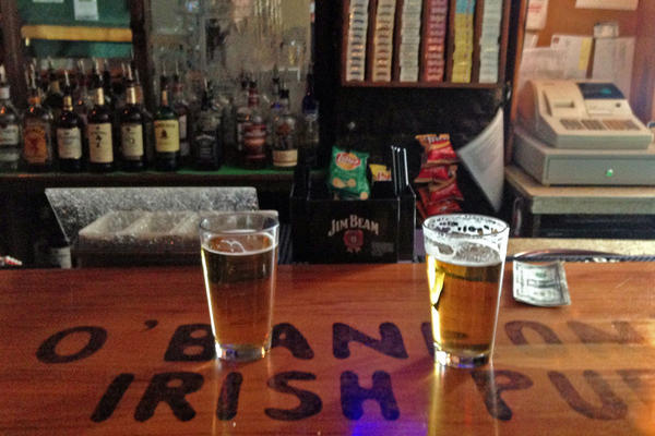 O'Bannon's Irish Pub in Telluride. San Miguel County has the second highest rate of binge drinking in Colorado.