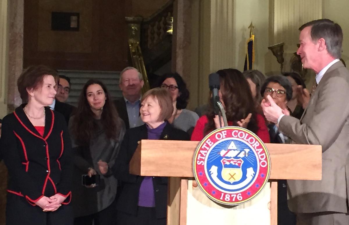 Colorado Governor John Hickenlooper has nominated Donna Lynne for Lt. Governor