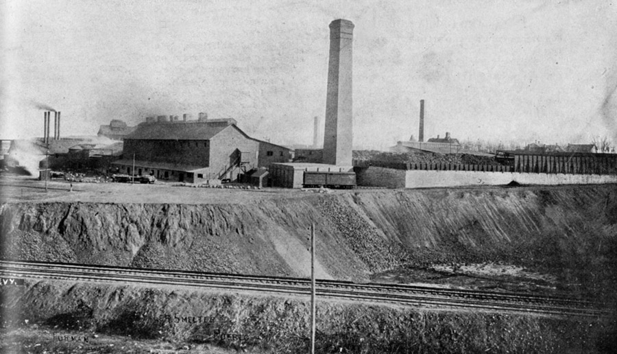 Historic photo of the Colorado Smelter
