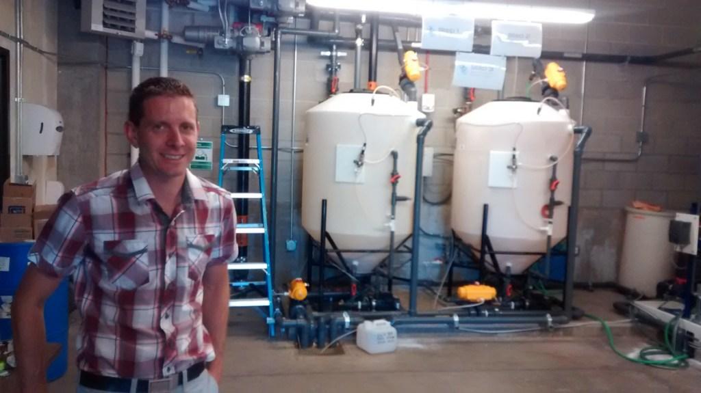 Jonathan Akins, Campus Civil Engineer for CU Boulder.