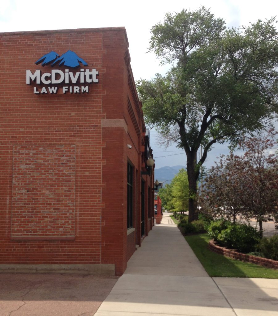 McDivitt Law is one of two Colorado based firms filing lawsuits on behalf of residents of Security, Widefield, and Fountain.