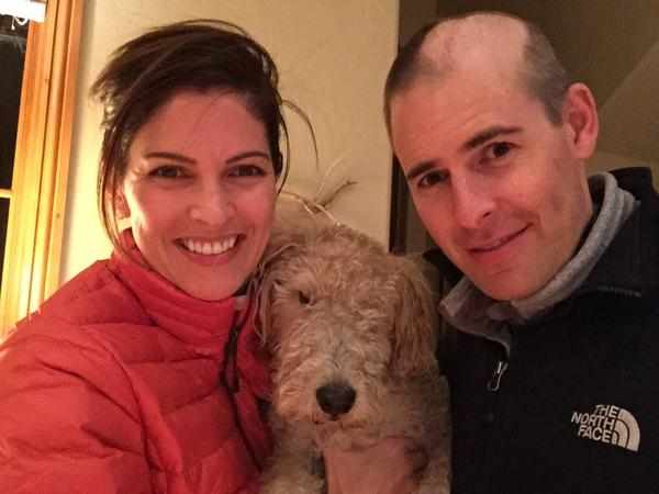 Matt Larson and his wife, Kelly, have struggled through a diagnosis of brain cancer. Now they seek options should the cancer return.