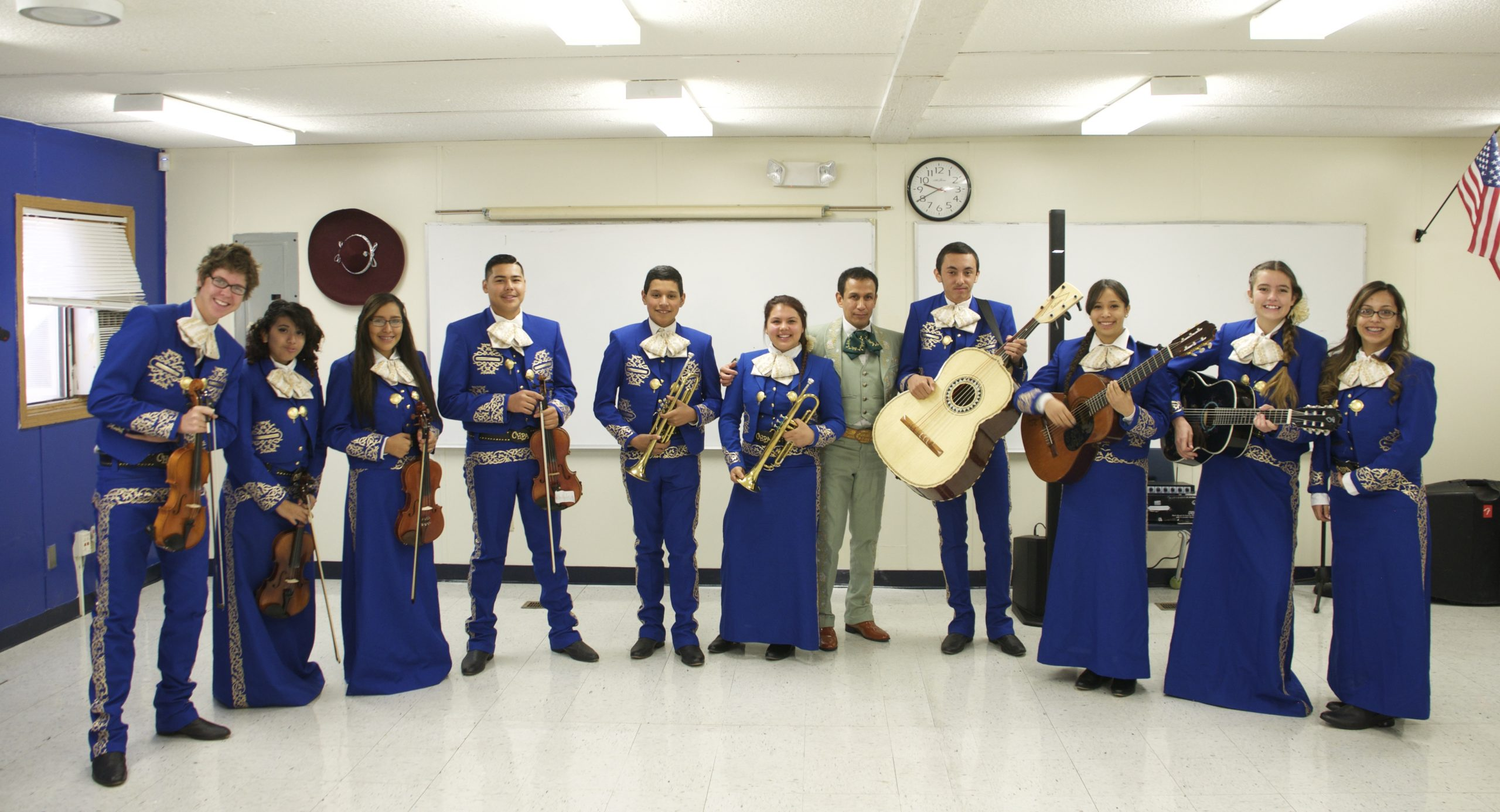 Chavez Huerta Preparatory Academy Advanced Mariachi Ensemble