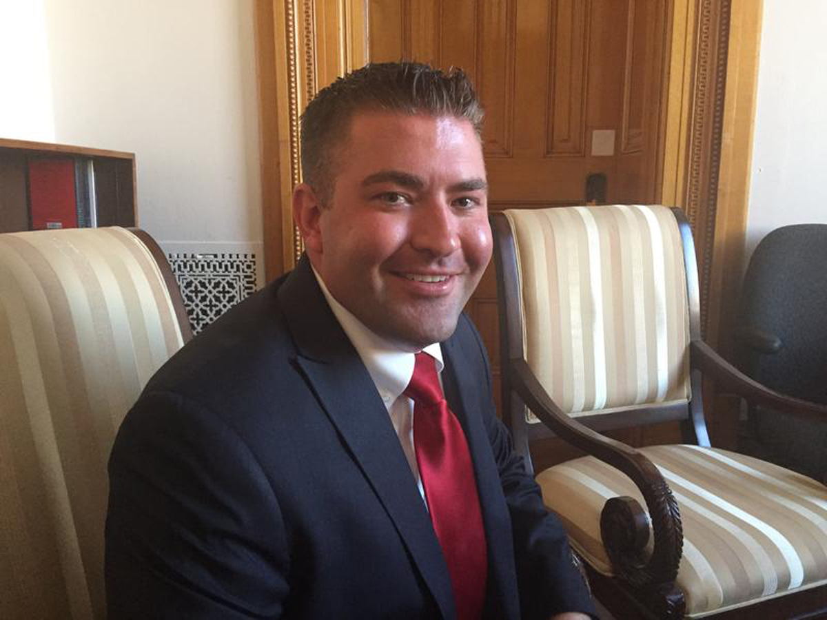 Republican Patrick Neville, Colorado's House Minority Leader for 2017